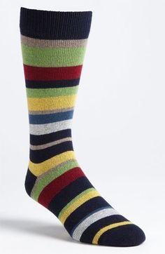 Lorenzo Uomo Stripe Socks   Nordstrom