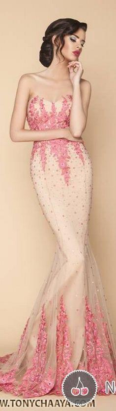 {Tony Chaaya Haute Couture Spring-Summer 2015}{ht}