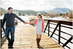 Plum Pretty Photography | Estes Park Engagement Photos | Lake Estes | Winter Engagement Photos| Estes Park Photographer| Estes Park Photography