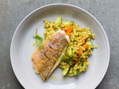 Israeli Cous Cous with Ras el Hanout, Fennel, and Carrot Recipe | SAVEUR