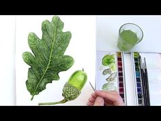 How to paint a realistic flower centre using tone - in watercolour with Anna Mason - YouTube