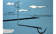 Serigrafia de Oscar Niemeyer