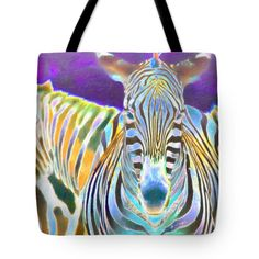 Tote Bags - Zebra Crossing Tote Bag by Nadia Sanowar