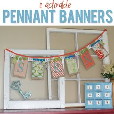 11 Exciting Pennant Banners | How Does She...