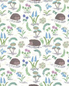 Bluebell Wood - Hedgehog Hideaway - Eggshell