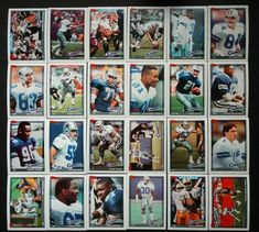 1991 Topps Dallas Cowboys Team Set of 24 Football Cards #DallasCowboys Football Cards, Baseball Cards, Troy Aikman, Dallas Cowboys, Ebay, Soccer Cards, Dallas Cowboys Football
