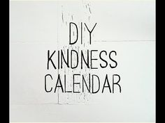 Maravick  K.N.O.W.S.: December Has Arrived, Tis The Season To Be Kind! Check Out The 31 Day RAK Calendar!