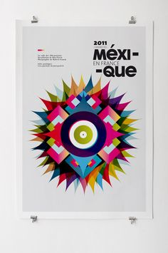 Creative Poster, Mexique, Les, Colored, and Graphiquants image ideas & inspiration on Designspiration Creative Poster Design, Creative Posters, Graphic Design Posters, Graphic Design Typography, Graphic Design Inspiration, Daily Inspiration, Poster Designs, Typography Art, Poster S