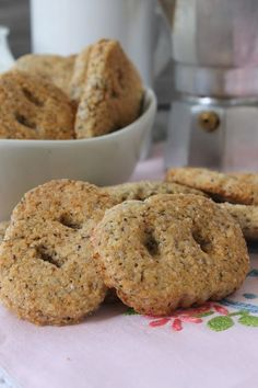 Cookie Recipes From Italy Best Italian Cookie Recipe, Italian Cookies, Italian Recipes, Biscotti Cookies, Biscotti Recipe, My Favorite Food, Favorite Recipes, Caramel Shortbread, Italy Food