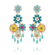 Jardin Majorelle Chandelier Earrings http://www.chloeandisabel.com/boutique/allisondarouze/f837fd
