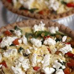 Mediterranean Quiche Is Great Morning, Noon, or Night: About once a month or so, I like to make a quiche.