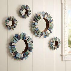 Driftwood Mini Mirrors