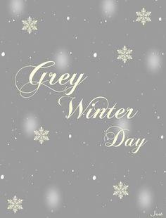 Grey Winter╰☆╮