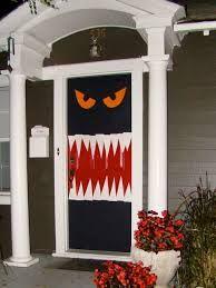 halloween glass door ideas - Google Search
