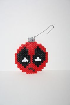 Star Trek Christmas Ball Ornaments perler beads by K8BitHero ...