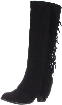 Fergalicious lucy fringe boot