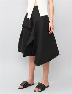 J.W. Anderson Origami Skirt - Black