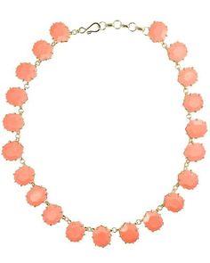 coral Kendra Scott necklace