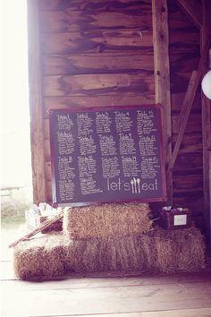 cute chalk board
