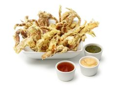 """Name This Dish!"" Crab Fries: Be sure to make Food Network Magazine's crab fries when soft shell crabs are in season."