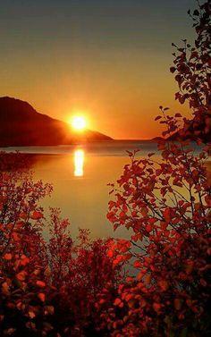 Pôr do Sol divino