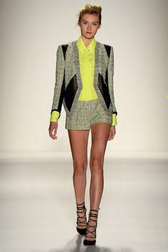 A model walks the runway during the Marissa Webb Spring 2014 fashion show at Mercedes-Benz Fashion Week Spring 2014