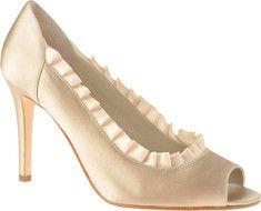 Enzo Angiolini Megrez - Ivory/Ivory Satin mother of the bride shoes - Shoebuy.com