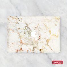 Orange Marble - MacBook Skin