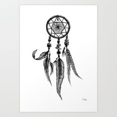 dreamcatcher Art Print by MargelineAimee - $12.48