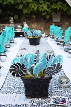 9 best blue candy table images dessert table candy buffet sweets rh pinterest com