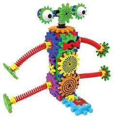 The Learning Journey Techno Gears, Wacky Robot by The Learning Journey -- Awesome products selected by Anna Churchill