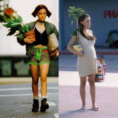 Some things never change. Only Leon is missing . Matilda, Jean Reno Natalie Portman, The Professional Movie, Mathilda Lando, Top 10 Films, Nathalie Portman, Human Poses Reference, Video Humour, Blade Runner