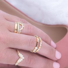 Rings for recent grads: Stackable sparklers they can make their own. Click the link in our bio to shop this post ✨ Hayley Paige, Fire Heart, Glitz And Glam, Sparklers, Stacking Rings, Beautiful Rings, Diamond Cuts, Jewels, Hearts