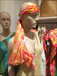 As seen in this Polo Scarf as Headband in-store visual merchandising display, a Scarf need not only be worn around the neck Visual Merchandising Displays, Bandana, Knots, Polo, Princess Zelda, Character, Bandanas, Polos, Tee