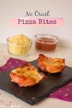 No Conforto da Minha Cozinha...: No Crust Pizza Bites...uma semana atrasados!