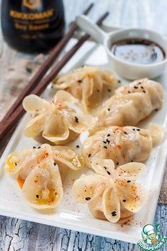 New Pasta Dough Ravioli Ideas Chicken Spring Rolls, Easy Vegan Dinner, Gnocchi Recipes, Russian Recipes, Saveur, Ravioli, International Recipes, Creative Food, Food Photo