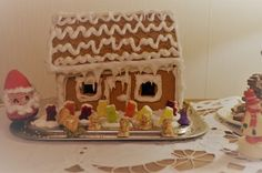 Gingerbread house. Hand made