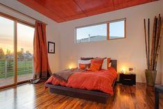 orange. ceiling