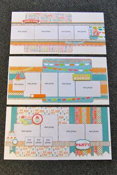 I love that these pages are for more then ONE picture! Scrapbook Generation