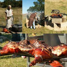 Roast pig