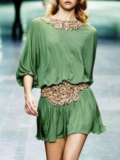 green & gold....