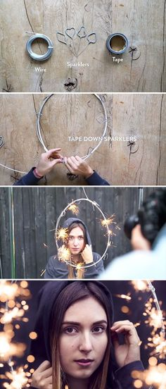 Okay but this is actually probably not safe in the slightest. Create A Sparkling Ring Of Fire