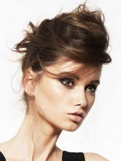 Bedhead Updo Hair Styles