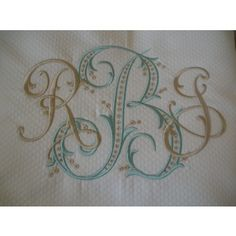 Matouk Diamond Pique Shower Curtain with Monogram Monogram Template, Monogram Design, Monogram Styles, Monogram Fonts, Embroidery Letters, Ribbon Embroidery, Embroidery Fonts, Embroidery Ideas, Sewing Crafts