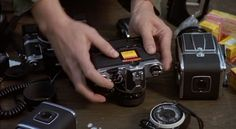Nikon and Hasselblad from the film Eyes of Laura Mars