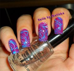 Nails by Malinka: Pueen Encore SE04A, Mundo de Unas stamping polishes