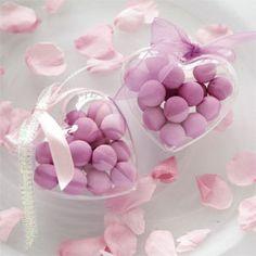 100 scatoline trasparenti cuore porta confetti plexiglass MATRIMONIO segnaposto   eBay