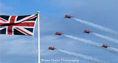 Red Arrows by Brian Taylor, via Flickr