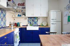 kierrätys,keittiö,retrotyyli,50-luku,välitila
