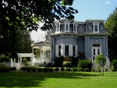 a lovely aged Victorian style home in Paris, Ontario